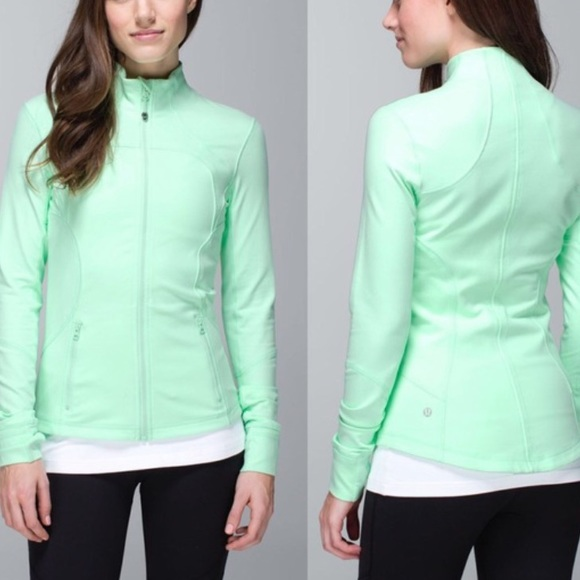 lululemon athletica Jackets & Blazers - LULULEMON Mint Green Zip-up